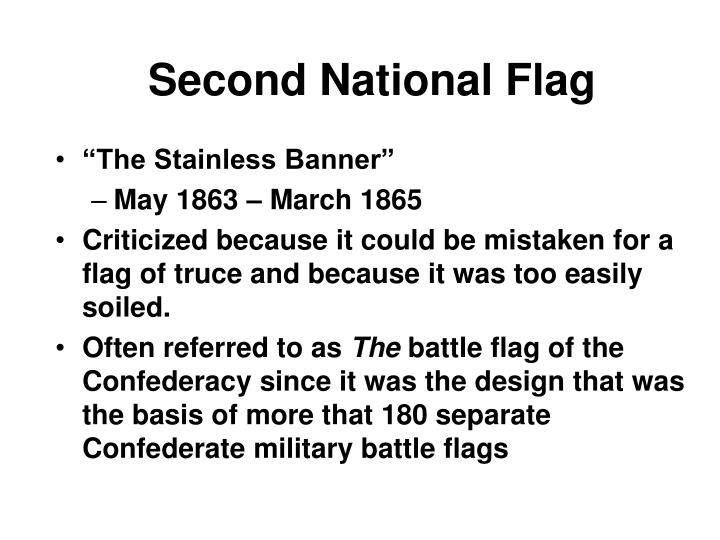 Second National Flag