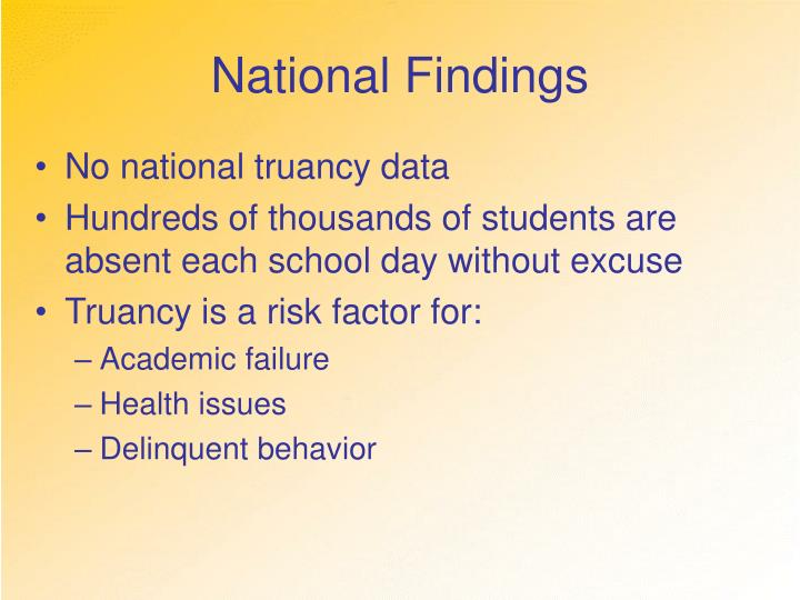National Findings