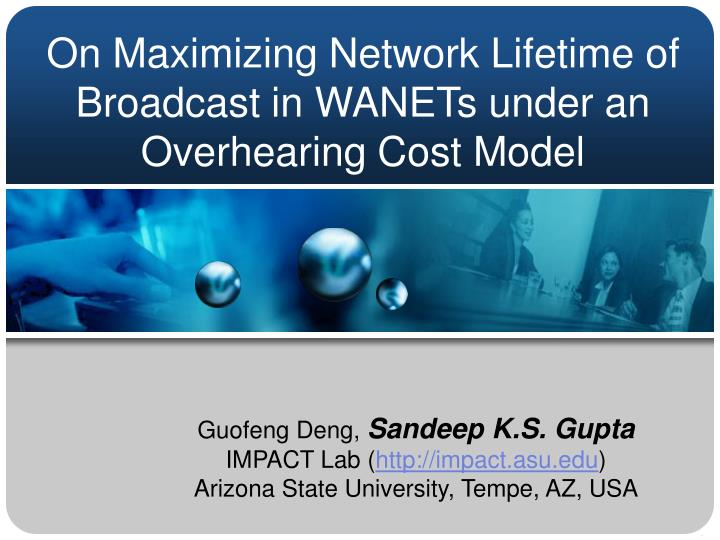 On maximizing network lifetime of broadcast in wanets under an overhearing cost model