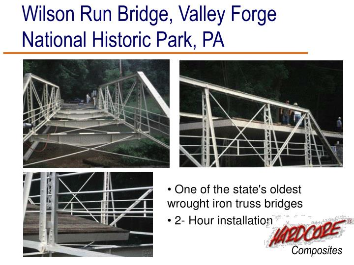 Wilson Run Bridge, Valley Forge National Historic Park, PA
