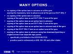 many options6