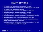 many options7