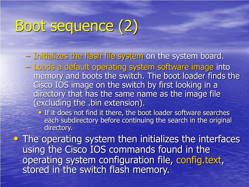 PPT - Basic Switch configuration PowerPoint Presentation