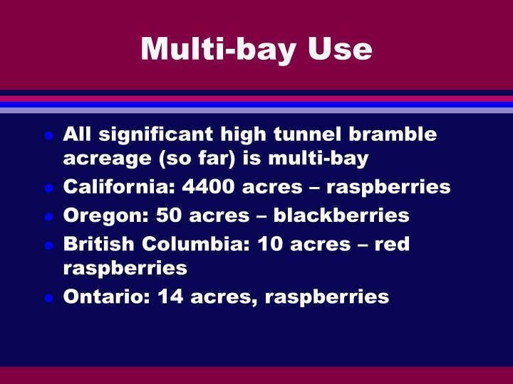 Multi-bay Use