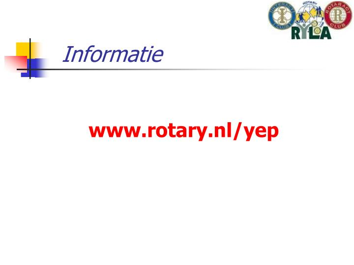 Informatie