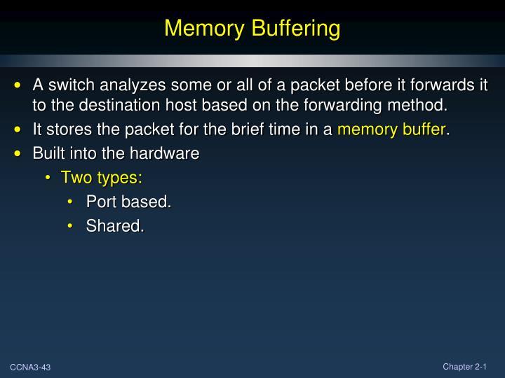 Memory Buffering