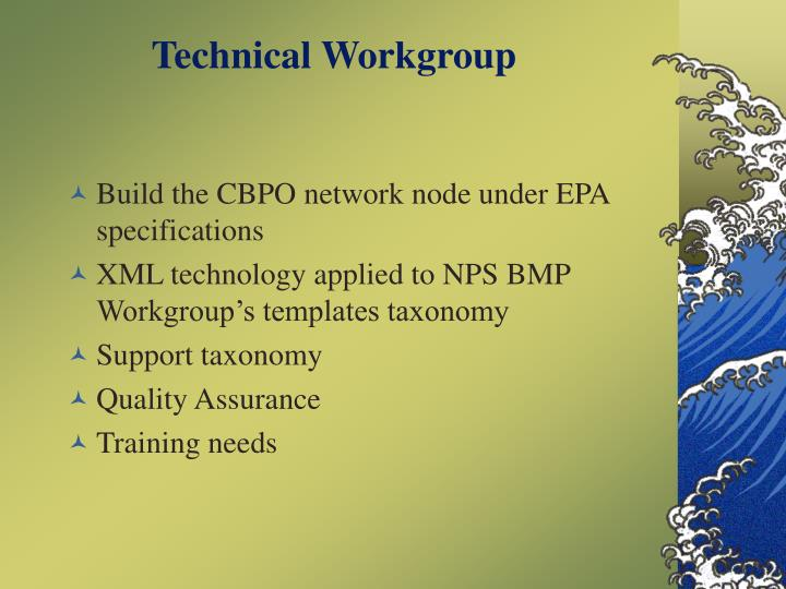Technical Workgroup