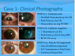 case 1 clinical photographs