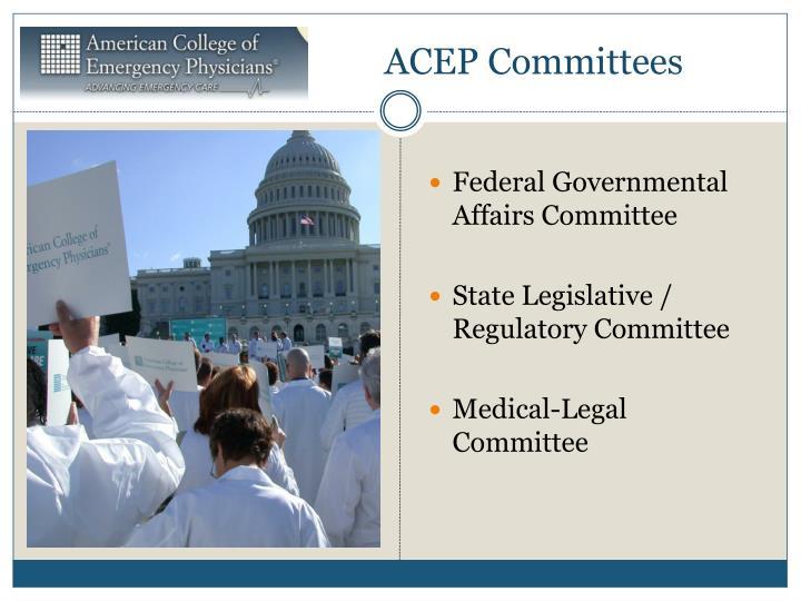 ACEP Committees