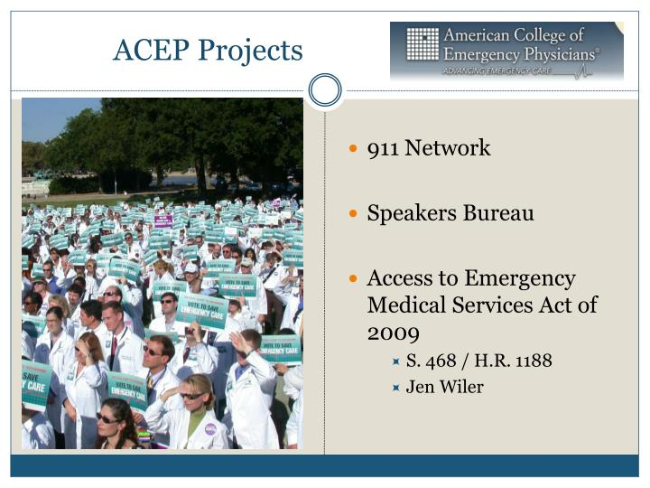 ACEP Projects