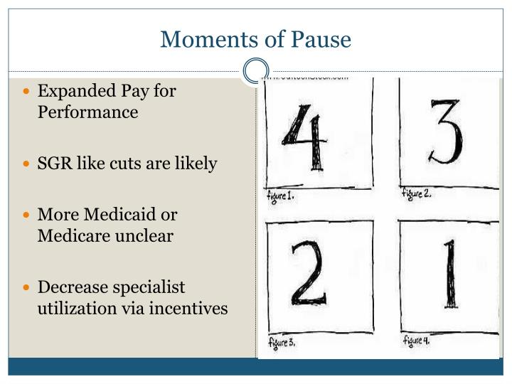 Moments of Pause
