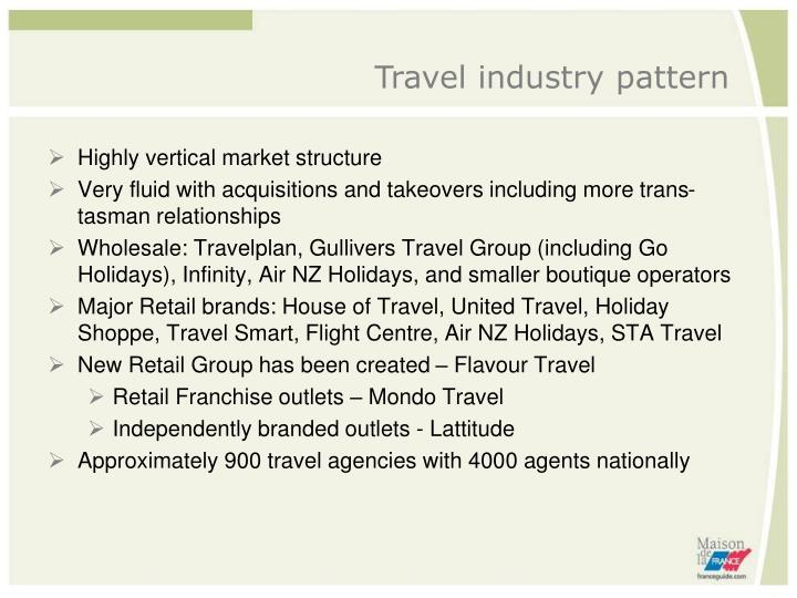 Travel industry pattern