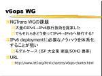 v6ops wg