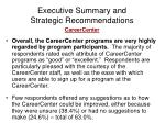 executive summary and strategic recommendations5