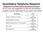 quantitative telephone research32