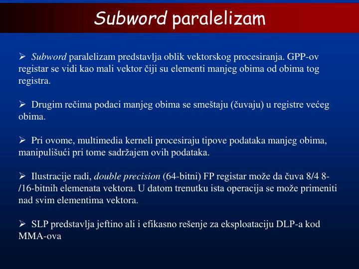Subword
