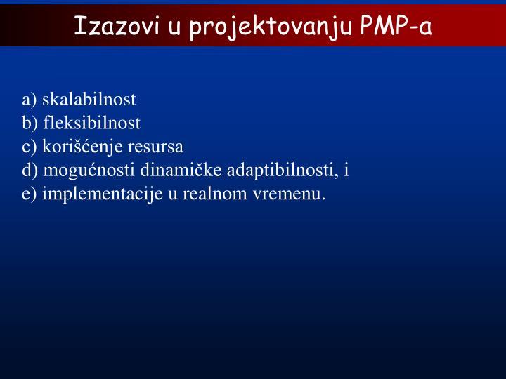 Izazovi u projektovanju PMP-a