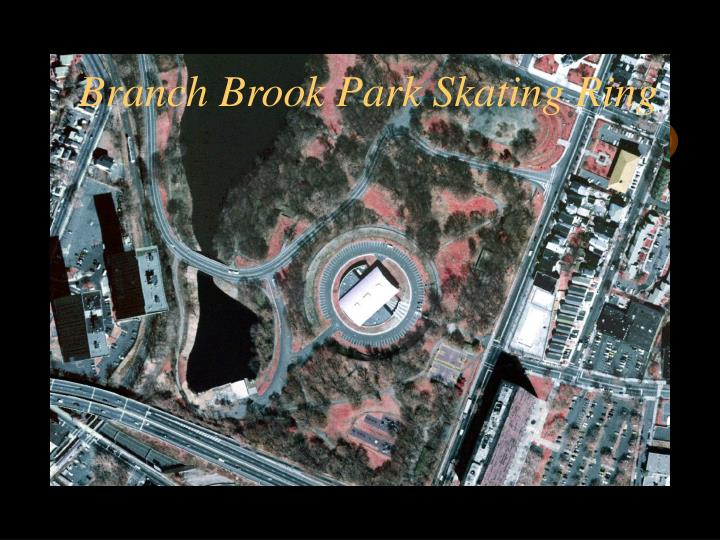 Branch Brook Park Skating Ring