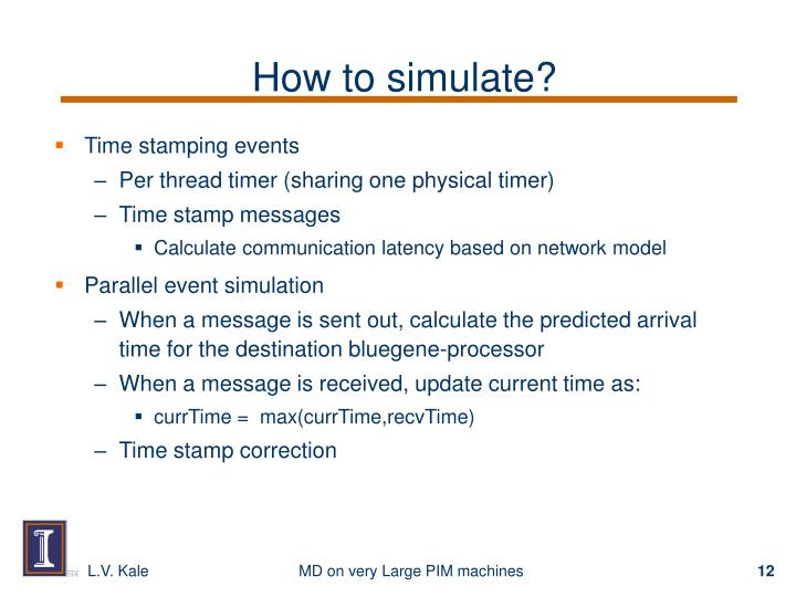 How to simulate?