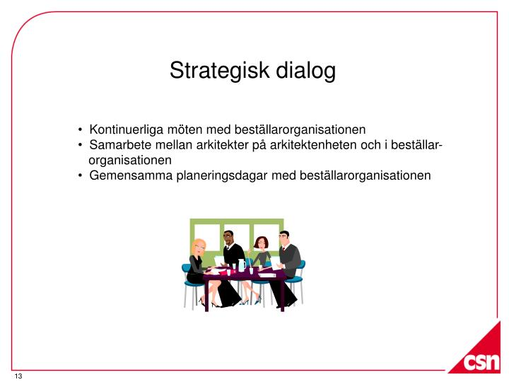 Strategisk dialog