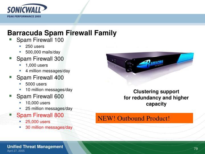 Barracuda Spam Firewall Family