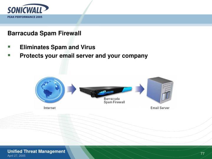 Barracuda Spam Firewall