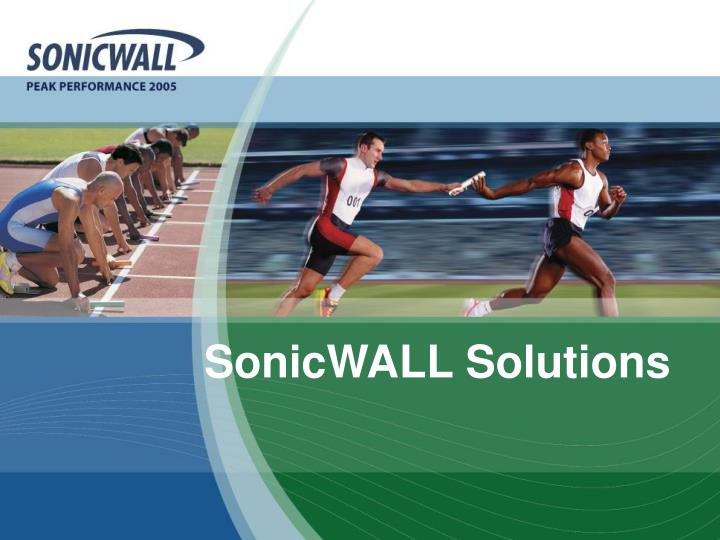 SonicWALL Solutions
