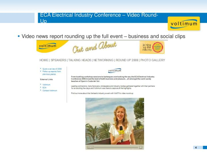 ECA Electrical Industry Conference – Video Round-Up