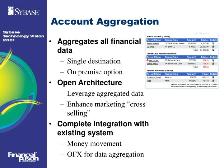Account Aggregation