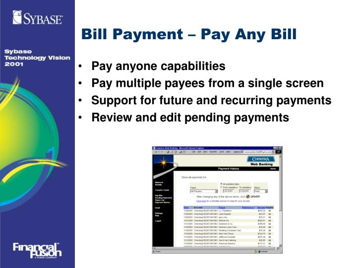 Bill Payment – Pay Any Bill