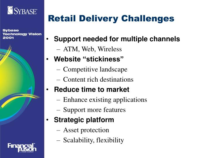 Retail Delivery Challenges