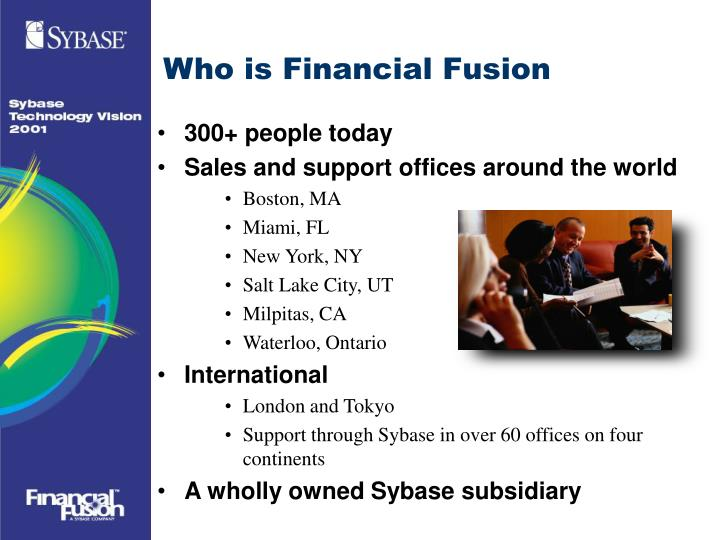 Who is Financial Fusion