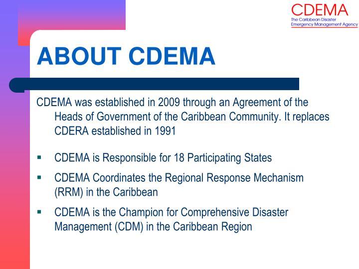 About cdema