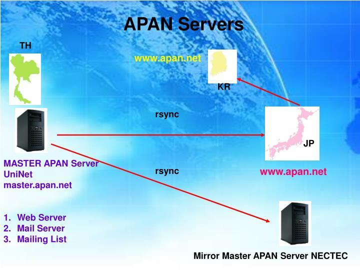 APAN Servers