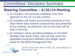 committees decisions summary1