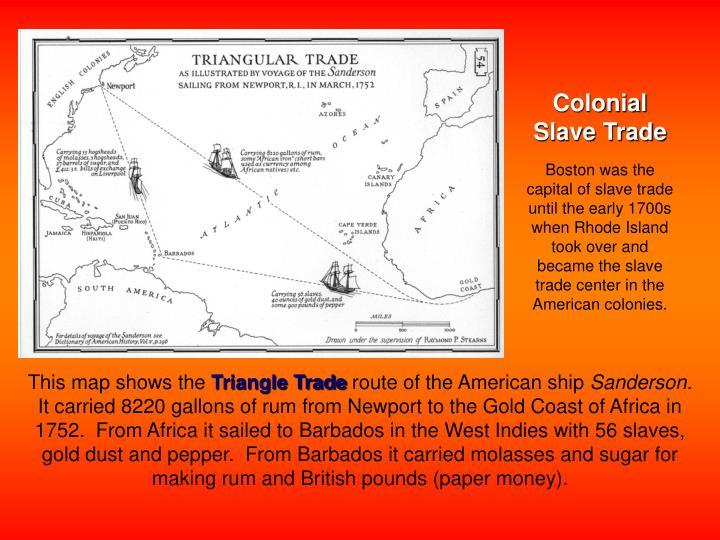 Colonial Slave Trade