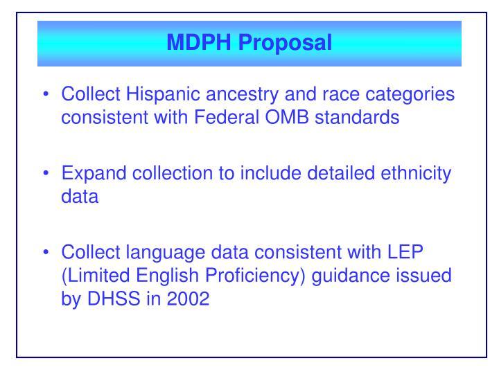 MDPH Proposal