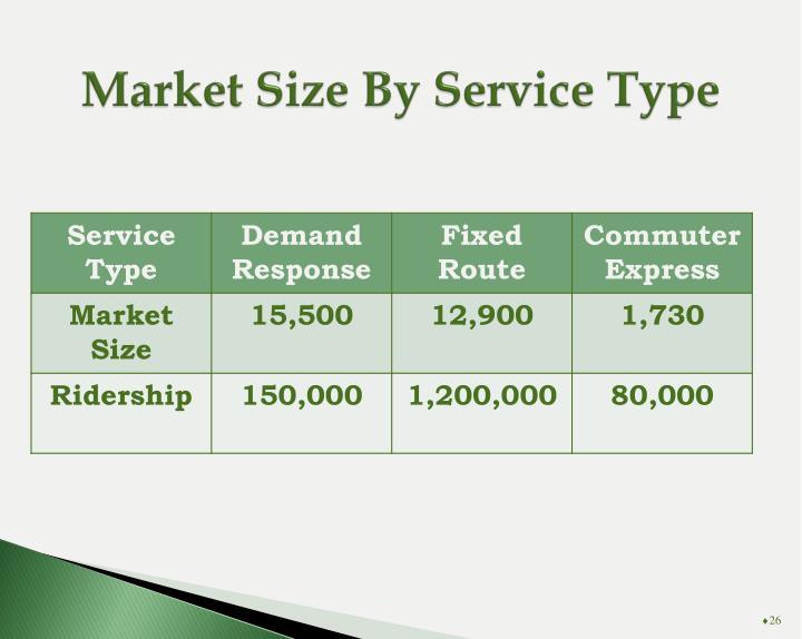 Market Size By Service Type