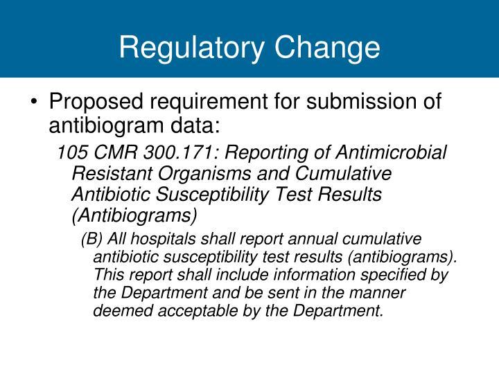 Regulatory Change