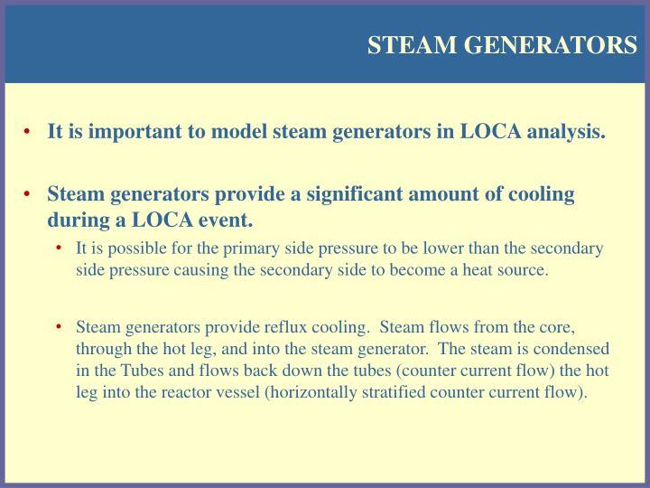 Steam generators1