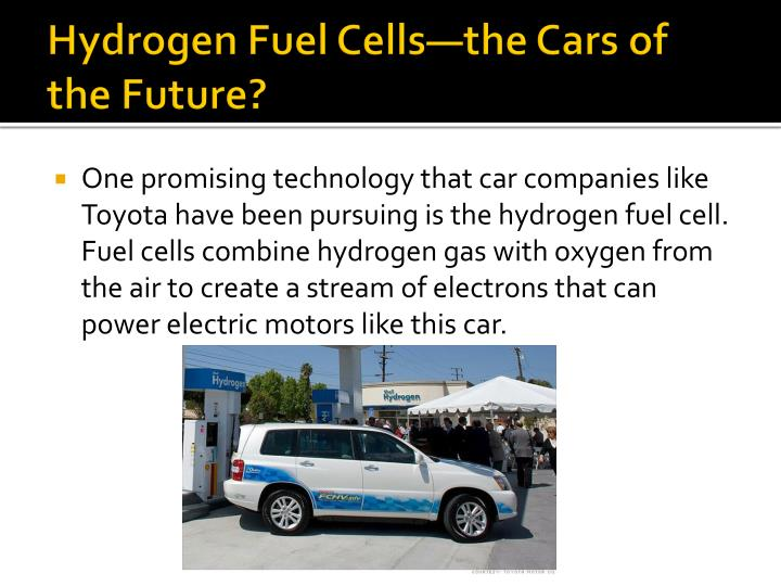 Hydrogen Fuel Cells—the Cars of the Future?