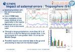 impact of external errors troposphere 6 6