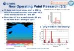 new operating point research 2 3