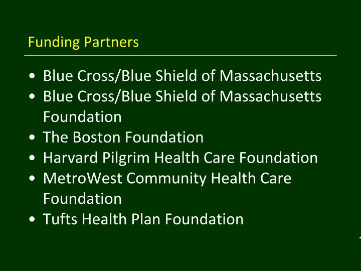 Funding Partners