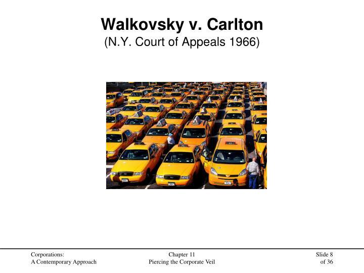 Walkovsky v. Carlton