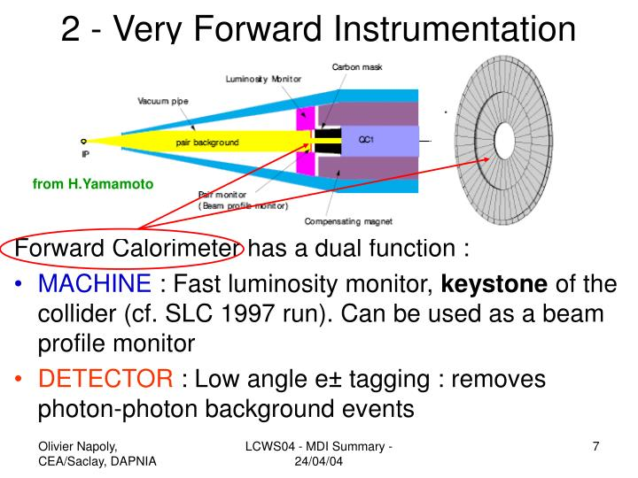 2 - Very Forward Instrumentation