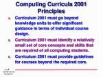 computing curricula 2001 principles1