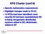 kfg charter cont d