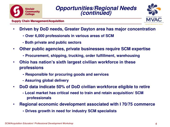 Driven by DoD needs, Greater Dayton area has major concentration