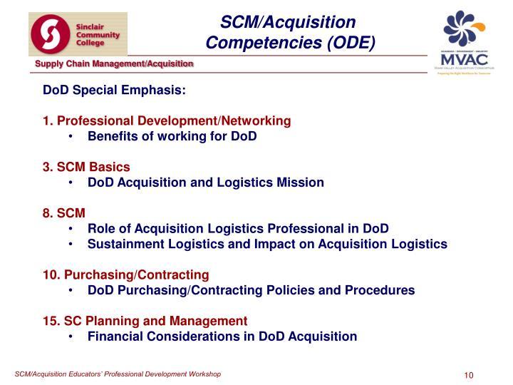SCM/Acquisition